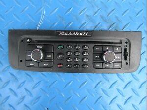 Maserati GranCabrio GranTurismo radio face plate #1056