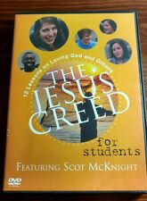THE JESUS CREED DVD FOR STUDENTS 12 LESSONS ON LOVING GOD