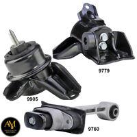 Engine Motor & Trans. Mount 3PC Set for Kia Sportage & Hyundai Tucson