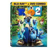 [New] Rio 2 (Blu-ray/DVD, 2014, 2-Disc Set)