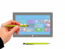 Green Stylus & Pen for Microsoft Surface Pro, Surface Pro 2 / 3 / 4 w/ Soft Tip