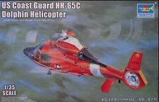 Trumpeter 1/35 05107 US Coast Guard HH-65C Dolphin Helicopter model kit◆