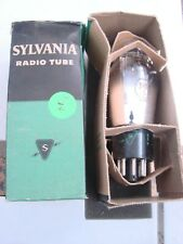 Radio Tube Sylvania NOS 1H6G Vintage tube in box tests 36/14