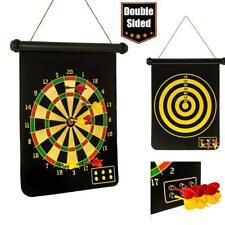 "15"" Dartboard Magnetic Board Darts Set Hanging Indoor Dart Wall Set Decoration"