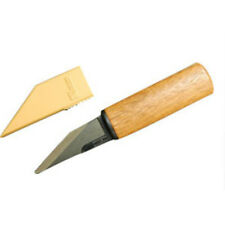 Kimura Japanese kiridashi Craft knife Steel Natural wood Made in Japan