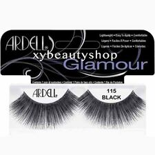 10 Pairs Ardell Glamour Lashes 115 Fake Eyelashes Black