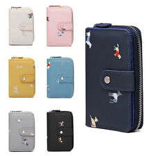 'Dogs in Jumpers'  Women Wallet Purse Card and Cash Holder Organizer Zipper