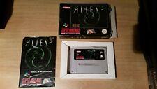 Alien 3 Super Nintendo PAL España