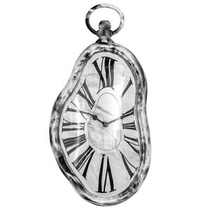 NEW! SALVADOR DALI INSPIRED MELTING WALL CLOCK -PERSISTENCE OF MEMORY TIME WARP