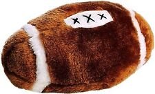 "Spot Ethical Soft Plush Squeaker Football 4.5"" Small fetch Dog Toy Throw & Chase"