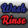 Car Detailing Wash & Rinse Two Colour Vinyl Bucket Decal Stickers Wax Valeting