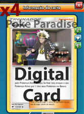 4x Guzma Supporter PLAYSET Pokemon TCG Online !! PTCGO Digital Card !!