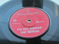 THE BEATLES ORIG 1964  NEW ZEALAND 45    I'LL CRY INSTEAD  MATCHBOX
