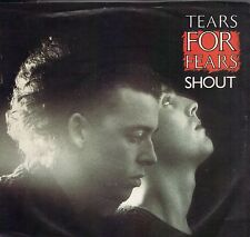 TEARS FOR FEARS  Shout / The Big Chair 45 with PicSleeve