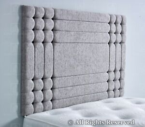 """Bed Headboard 24"""" Chicago Cubes KINGSIZE   DOUBLE   SINGLE  Chenille"""