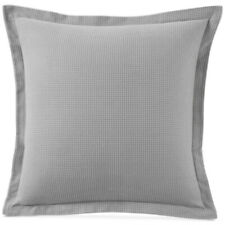New Martha Stewart Flannel Grayscale Flannel EURO Sham Plaid Cotton