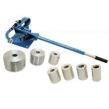 Bench Top Tupe Pipe Rod Compact Bender Bending Metal Fabrication 7 Dies 1 3