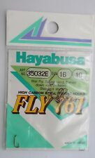 Hayabusa Size 16 - 10 hooks in pack Wet Fly Sproat bend Hooks Free P&P