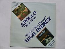 "MAXI 12"" APOLLO Astro disco HIGH INERGY Shoulda gone dancin 2C052 5284 Z"