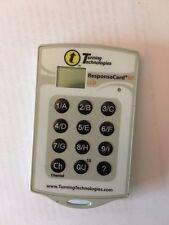 Response Card RF LCD Turning Technologies RCRF-03