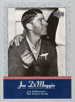 2001 Upper Deck Pinstripe Exclusives DiMaggio Baseball Card Pick