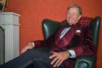 Men's Quilted Velvet Smoking Jacket Evening Party Host Wear Dinner Blazer Coats