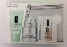 CLINIQUE De-ageing Solutions Boxed Gift Set Repairwear Foaming Facial Soap NEW