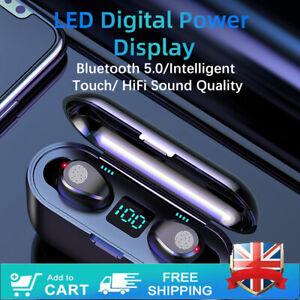 TWS Wireless Bluetooth Headphones Earphones Earbuds in ear For iPhone Samsung UK