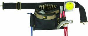 CLC Custom Leathercraft 1245 Poly Tool Apron, 6 Pocket Single Side
