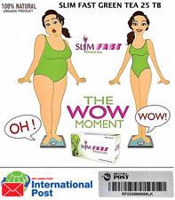Best Slim Fast Green Tea Weight Loss, Fast Fat Burner 25 Tea Bags