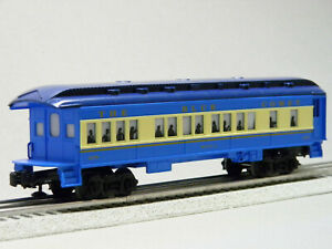 LIONEL LIONCHIEF BLUE COMET BIELA OBSERVATION CAR O GAUGE 1923070-BIELA NEW