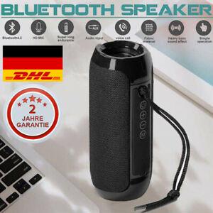 20W Tragbarer Bluetooth Lautsprecher Musik box Stereo Wireless Subwoofer SD USB