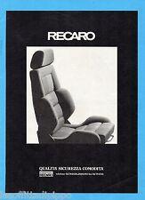 QUATTROR990-PUBBLICITA'/ADVERTISING-1990- RECARO KEIPER