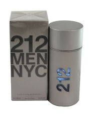 212 Men by Carolina Herrera for men NYC 3.4/3.3 oz 100Ml Edt Spray New In Box