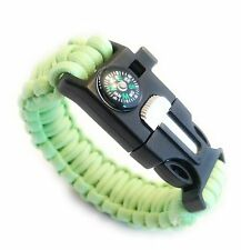 Mello Products Ultimate 550 Paracord Glow in the Dark Luminous Survival Bracelet