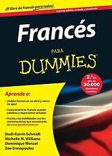 Francés para dummies. NUEVO. Nacional URGENTE/Internac. económico. AUTOAYUDA