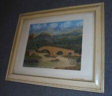 Acquerello primi '900 cm.34x38 ca. firmato Nizza Marano - Piemonte - Liguria