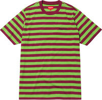 46b60742ab15 Supreme SS17 Bar Stripe Tee BOX LOGO TOP T-Shirt MADONNA MONA LISA ROCKS  LIQUID