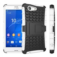 Hybride Housse Protection Silicone pour Sony Xperia Z3 Compact D5803 M55W