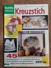 Burda E 503 von 1980 Kreuzstich  Sticken  Stickheft Handarbeitsheft