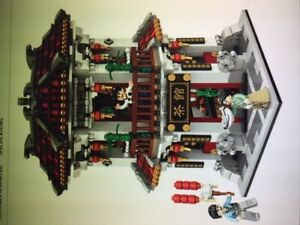 Hotel Chinatown 1692 pieces, 19-20cm, Loz Building Bricks