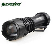 Fokus 2000LM CREE Q5 AA/14500 3-Modus ZOOMABLE LED Flashlight Torch Taschenlampe