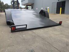 BRAND NEW CAR TRAILER TILT DECK 1.4T 10X6.6FT SUIT MOWERS BIKES QUADS ATV