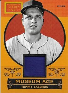 2014 Panini Golden Age - Museum Age Relic - Tommy Lasorda - Game Jersey - #35