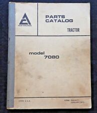 GENUINE 1975 ALLIS CHALMERS MODEL 7080 TRACTOR PARTS CATALOG MANUAL