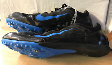 Men's Nike Zoom Rival MD No Spikes Black Photo Blue Size 14 616312 004 NEW