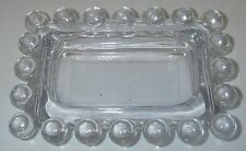 Imperial Glass CANDLEWICK Clear Ashtray Rectangular Elegant Glassware.