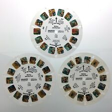 Lot of 3 Mickey and the Seal Disney 3D View Master Slides Stereo Reels Q662