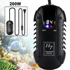 200W Mini Auto Aquarium Fish Tank LED Digital Heater Adjustable Thermostat