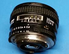 Nikon 20mm F2.8 D AF Prime lens